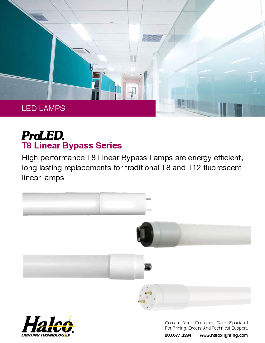 ProLED Linear Bypass T8