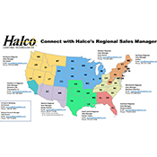 Halco Regional Sales Managers - Contact Info