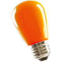 S14ORG1C/LED 80523 LED S14 1.4W ORANGE DIMMABLE E26 PROLED